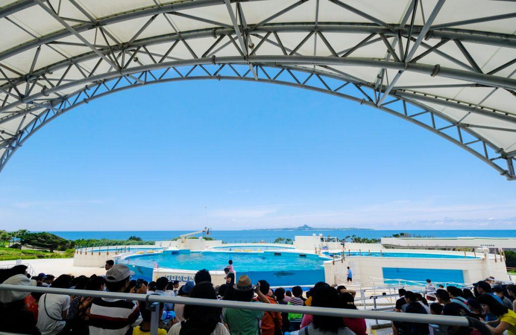 沖縄美ら海水族館(ちゅらうみすいぞくかん)おきちゃん劇場