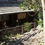 チャハヤブラン cafe CAHAYA BULANの入り口