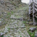 玉城城跡 石畳