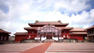 首里城(しゅりじょう)の正殿