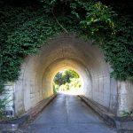 運天トンネルの後ろ側
