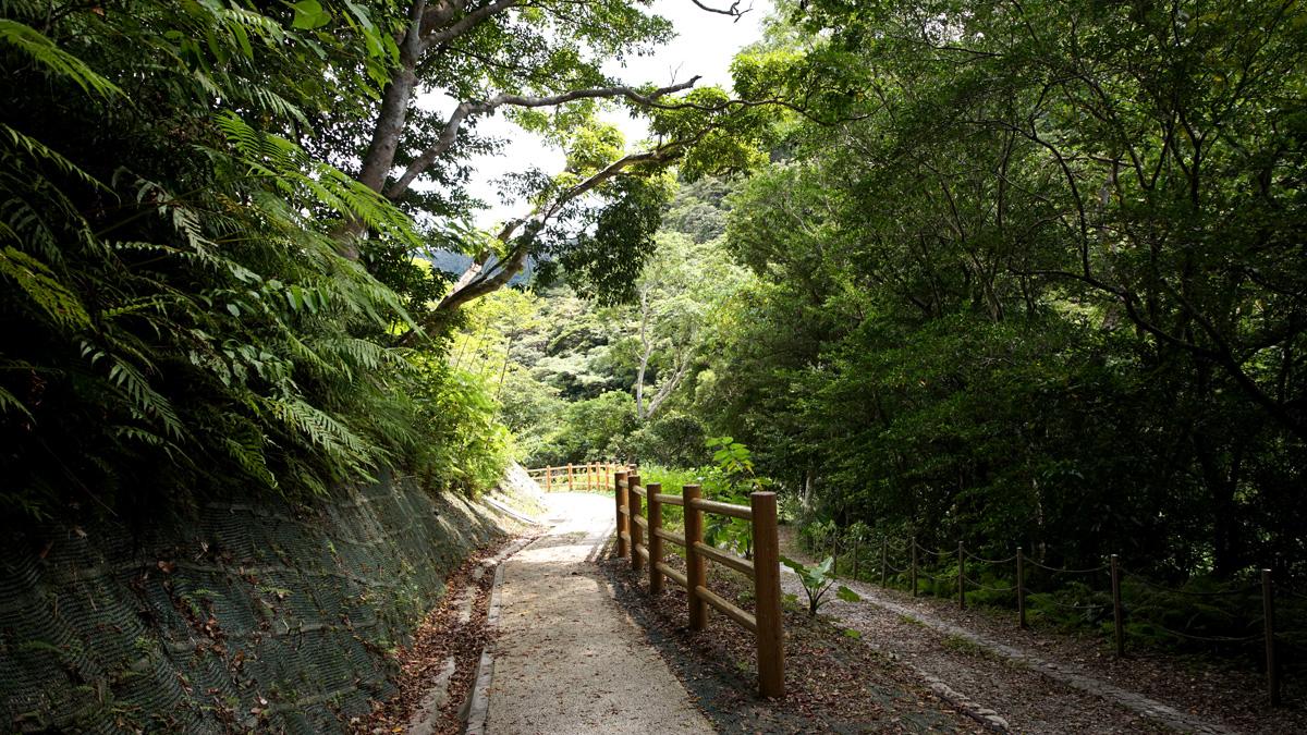 比地大滝(ひじおおたき)通路
