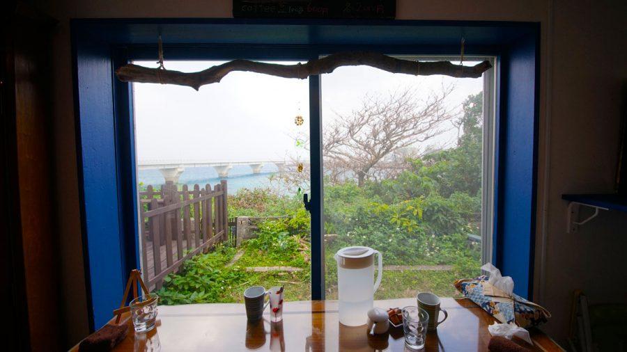 カフェ清ちゃん大きな窓