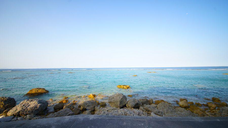 テダ御川(てだうっかー)の海