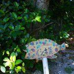 イシキ浜(いしきはま)の案内板