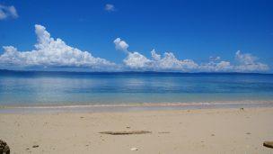 久高島(くだかじま)のビーチ
