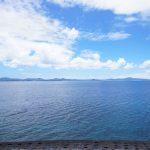 今帰仁(なきじん)から見る名護湾