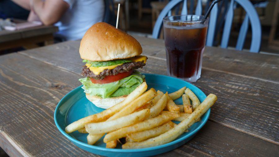 ととらべべハンバーガー(ToTo la Bebe Hamburger)アボガドチーズバーガーセット