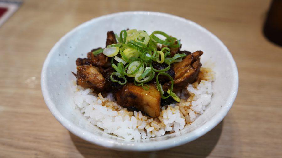 自家製麺三竹寿(さんちくじゅ)の肉めし