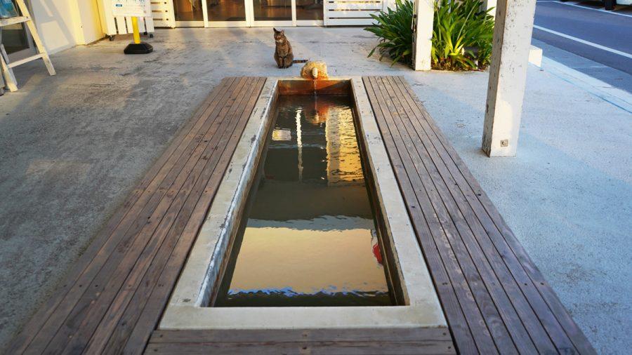 沖縄瀬長島(おきなわせながじま)の足湯