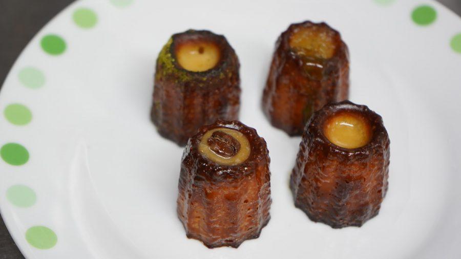 黒糖カヌレ ほうき星(くろざとうかぬれ ほうきせい)4種類