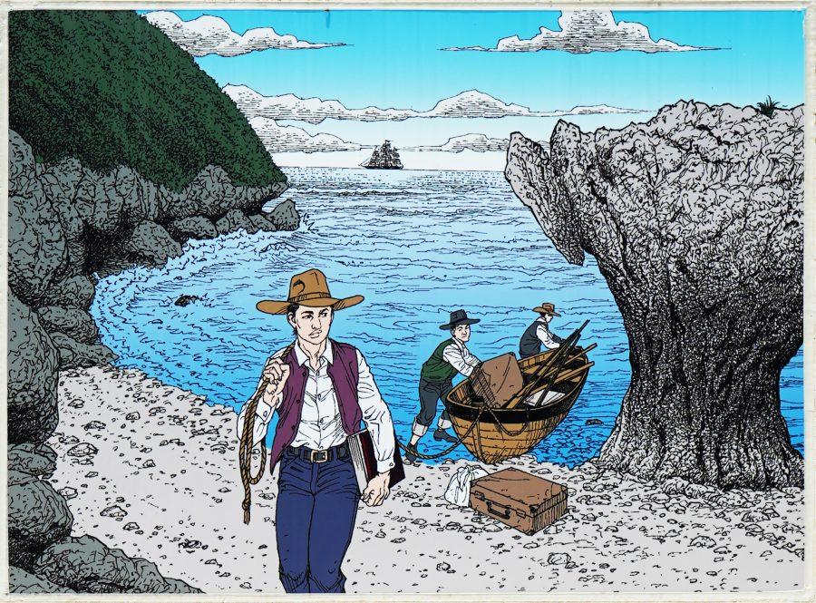 大度浜海岸(ジョン万ビーチ)沖縄ジョン万次郎のストーリ3