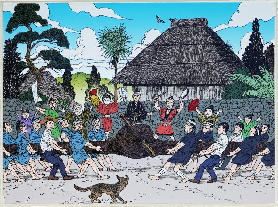 大度浜海岸(ジョン万ビーチ)沖縄ジョン万次郎のストーリ5