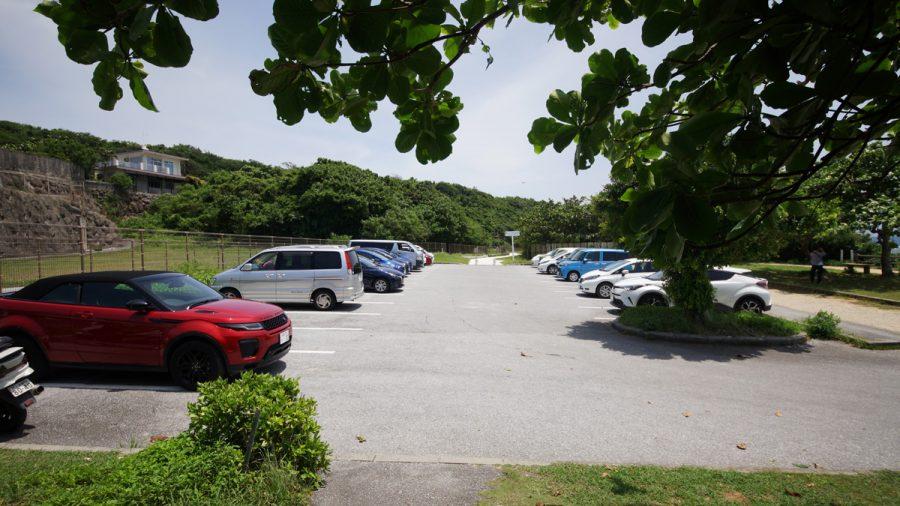 大度浜海岸(ジョン万ビーチ)無料駐車場