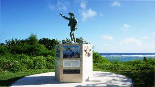 ジョン万次郎の記念碑(じょんまんじろうのきねんひ)