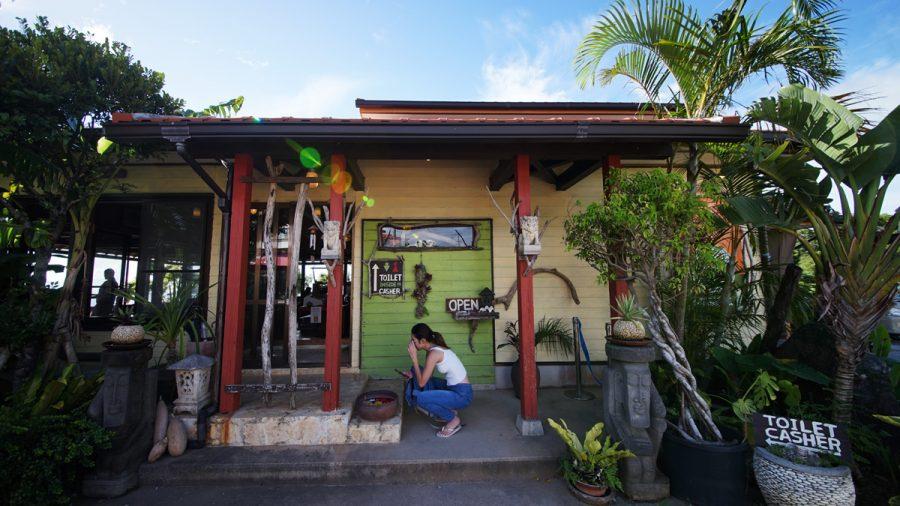 亜熱帯茶屋(あねったいちゃや)の外観入り口