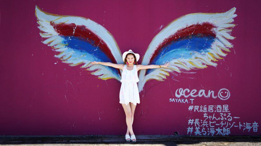 沖縄の写真 Angel's wing