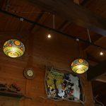 亜熱帯茶屋(あねったいちゃや) 店内のライト