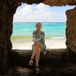 沖縄の写真 モデルナタリーさん
