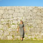沖縄 写真 世界遺産 モデルナタリーさん