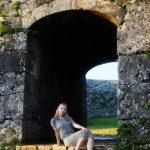 沖縄の写真 座喜味城跡(ざきみじょうせき)ナタリーさん