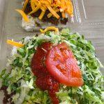 タコライスチーズ野菜とタコライスチーズ