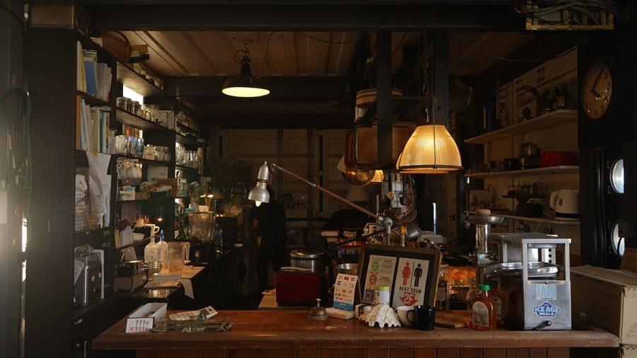 INN CAFE(イン カフェ)三階 注文レジ前