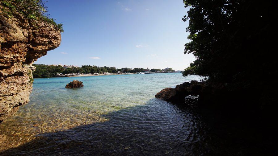 伊計グスク(いけいぐすく)の海