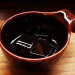 くるまえびキッチンTAMAYAのコーヒーゼリー
