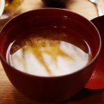 くるまえびキッチンTAMAYA 豆腐入り味噌汁