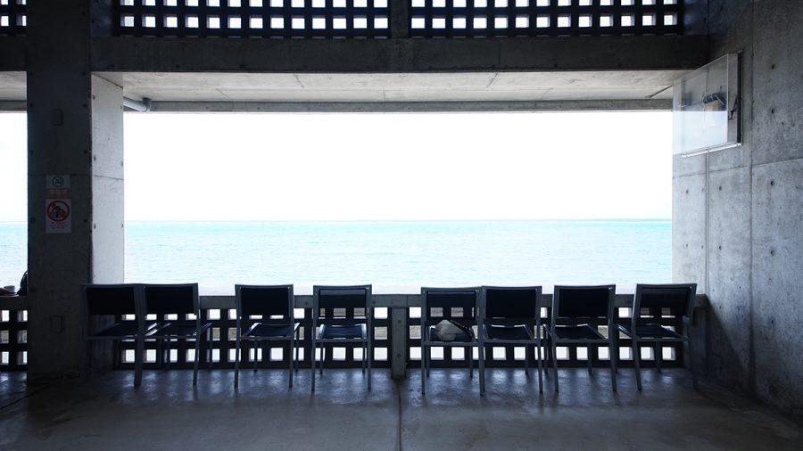 On the Beach CAFE(オン ザ ビーチ カフェ)二階のテラス