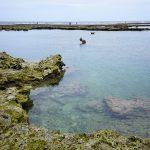 玻名城ビーチ(はなしろびーち) 透明感