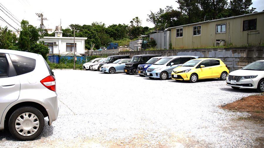 ハワイアンパンケーキハウス パニラニ(Hawaiian Pancakes House Paanilani)駐車場