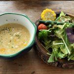 Tenku terrace OOLOO(テンクウテラス オールー)野菜とコーンスープ