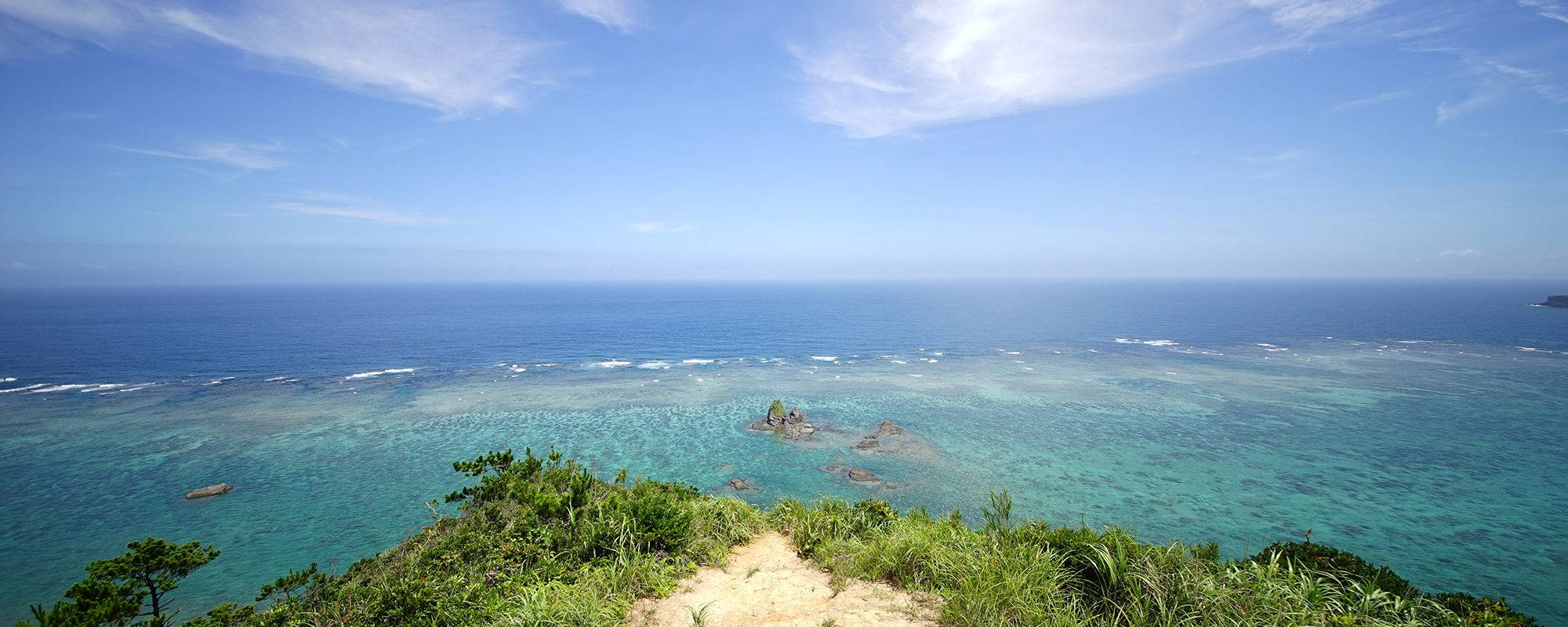 ジュゴンの見える丘(じゅごんのみえるおか)絶景