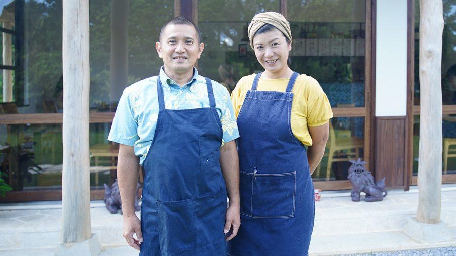 アボカフェ沖縄店(おきなわてん)オーナー夫婦