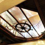 アイスクリンカフェアーク 二階店内天井