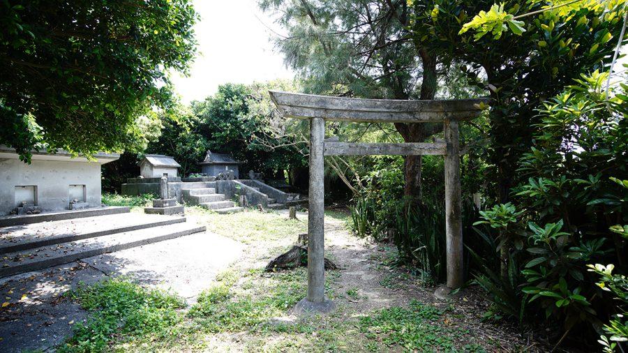 伊計島 セーナナー御嶽 入り口