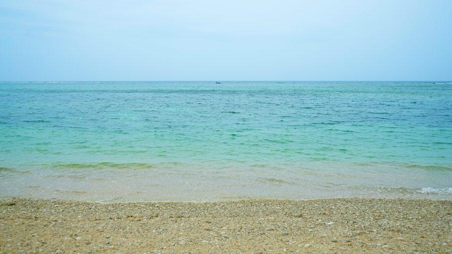宮城島 ウクの浜(うくのはま)の海